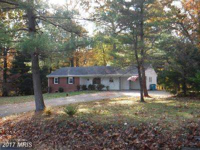 Frederick MD Single Family Home For Sale: $240,000