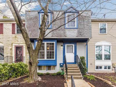 Frederick Townhouse For Sale: 402 Shannon Court