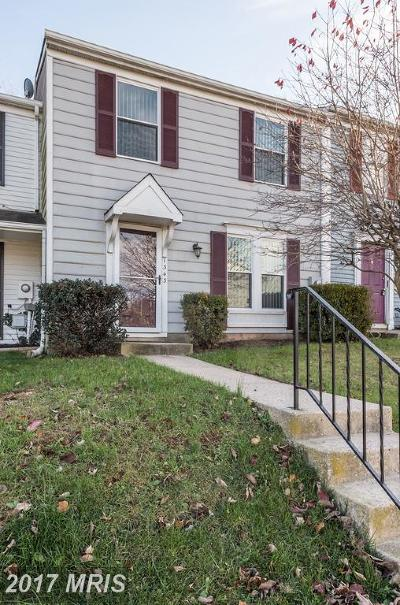 Frederick MD Townhouse For Sale: $165,000