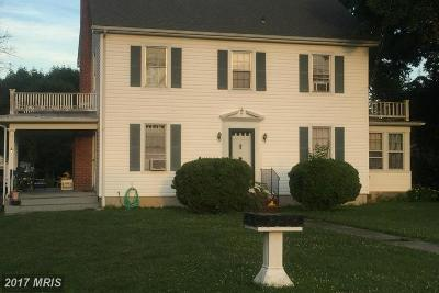 Frederick Single Family Home For Sale: 112 Emmitsburg Road