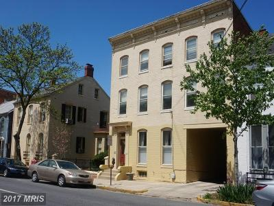 Frederick Multi Family Home For Sale: 23 , 25, 27 East Third Street