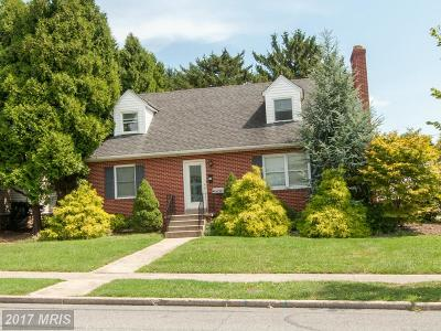 Frederick Single Family Home For Sale: 300 Fairview Avenue