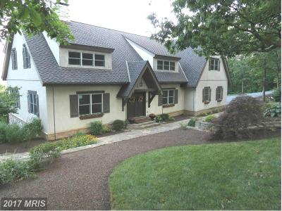 Frederick Single Family Home For Sale: 8010 Ridge Road