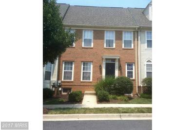 Frederick Townhouse For Sale: 3008 Sanctuary Lane