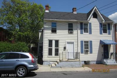 Frederick Townhouse For Sale: 371 Madison Street