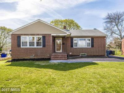 Frederick Single Family Home For Sale: 628 Apple Avenue