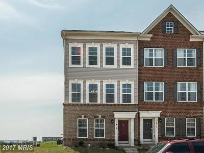 Frederick Townhouse For Sale: 5910 Jefferson Commons Way