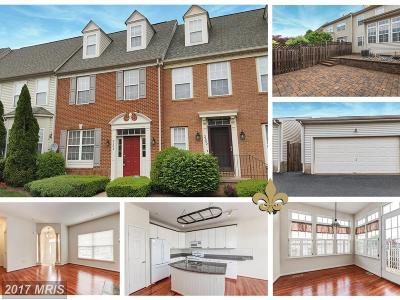 Frederick Townhouse For Sale: 2604 Mill Race Road