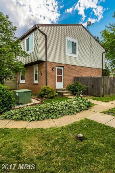 Walkersville Townhouse For Sale: 8774 Victory Court