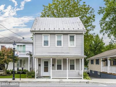 Thurmont Single Family Home For Sale: 18 Main Street