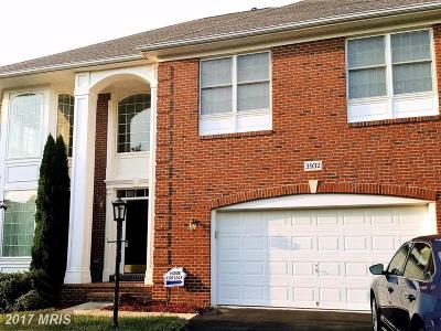 Frederick Single Family Home For Sale: 3932 Braveheart Circle