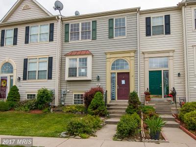 Frederick Townhouse For Sale: 1527 Laurel Wood Way