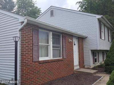 Frederick MD Single Family Home For Sale: $222,500