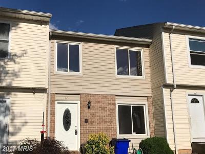 Frederick Townhouse For Sale: 63 Apple Way