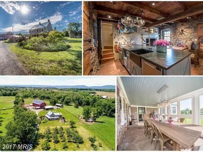 Emmitsburg Farm For Sale: 10720 Dern Road