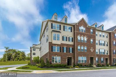Frederick Townhouse For Sale: 6474 Walcott Lane