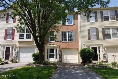 Frederick Townhouse For Sale: 1507 Beverly Court