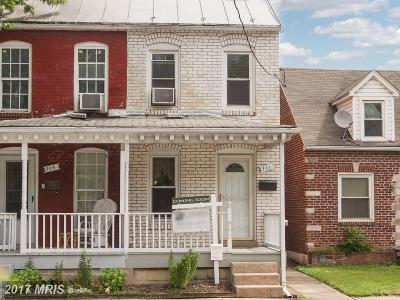 Frederick Duplex For Sale: 711 South Street