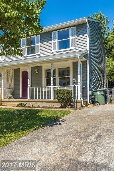 Frederick Duplex For Sale: 147 Stonegate Drive