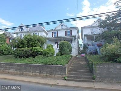 Frederick Single Family Home For Sale: 519 Potomac Street W