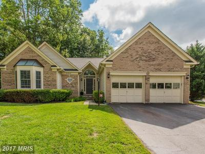Frederick Single Family Home For Sale: 3317 Knolls Parkway