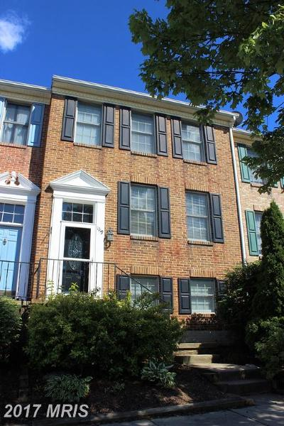 Mount Airy Townhouse For Sale: 1119 Oak View Drive