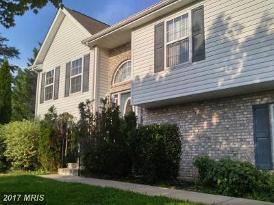 Frederick, Shenandoah, Warren, Winchester City Rental For Rent: 109 Trefoil Court