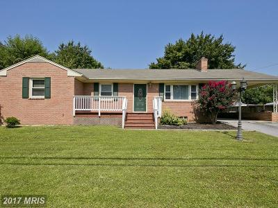 Frederick Single Family Home For Sale: 114 Wilkins Drive