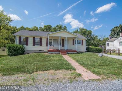 Frederick Single Family Home For Sale: 132 Terrys Lane