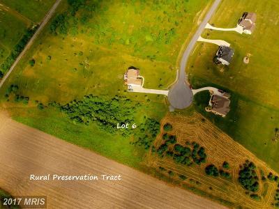 Frederick Residential Lots & Land For Sale: Skyjes Lane