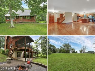 Frederick Single Family Home For Sale: 1909 Back Mountain Road