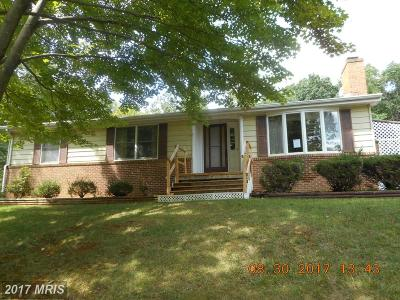 Frederick Single Family Home For Sale: 503 Cardinal Drive