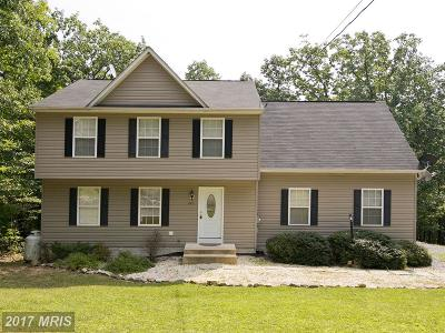Frederick Single Family Home For Sale: 610 Bluebird Trail