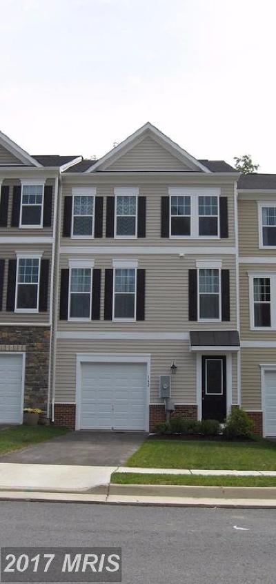 Frederick, Shenandoah, Warren, Winchester City Rental For Rent: 168 Solara Drive