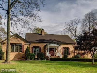 Frederick Single Family Home For Sale: 212 McGuire Road