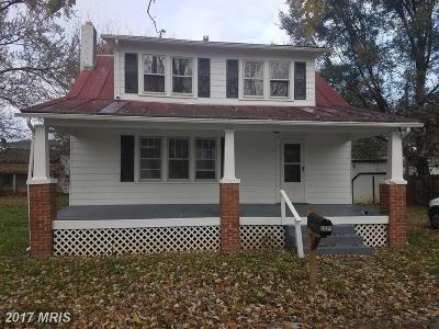 Frederick Single Family Home For Sale: 1021 Foreman Lane