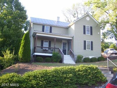 Frederick Single Family Home For Sale: 323 Mineral Street