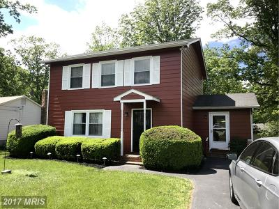 Frederick Single Family Home For Sale: 106 Grove Court