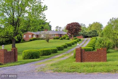 Frederick Single Family Home For Sale: 1002 Carters Lane