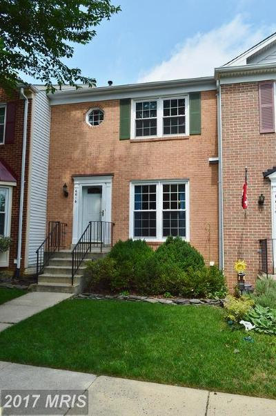 Townhouse For Sale: 6616 Sky Blue Court