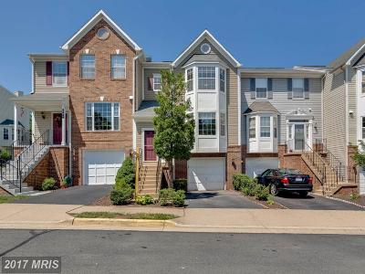 Centreville Townhouse For Sale: 6846 Kerrywood Circle