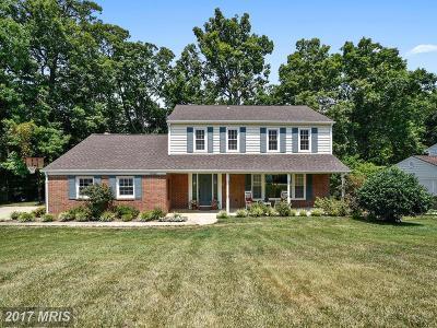 Lorton Single Family Home For Sale: 10808 Anita Drive