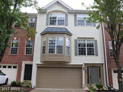 Centreville Townhouse For Sale: 5480 Owens Wood Court