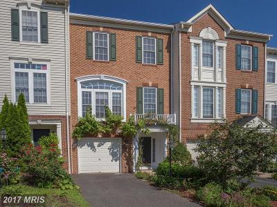 Fairfax Townhouse For Sale: 4948 Wyndham Creek Court