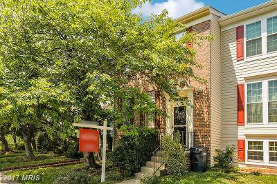 Centreville Townhouse For Sale: 6502 Sharps Drive