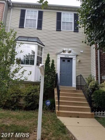 Lorton Townhouse For Sale: 9646 Franklin Woods Place