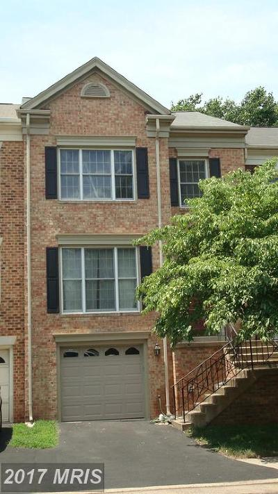 Centreville Townhouse For Sale: 5119 Woodfield Drive