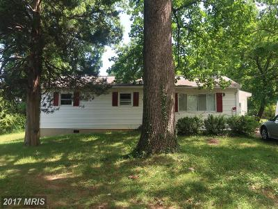 Falls Church Single Family Home For Sale: 2828 Random Road