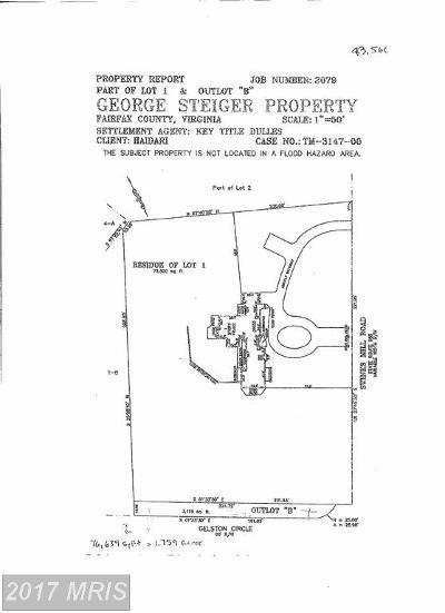Mclean, Mc Lean Residential Lots & Land For Sale: 1055 Swinks Mill Road