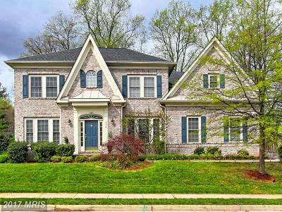 Fairfax Single Family Home For Sale: 5518 Crofton Green Drive